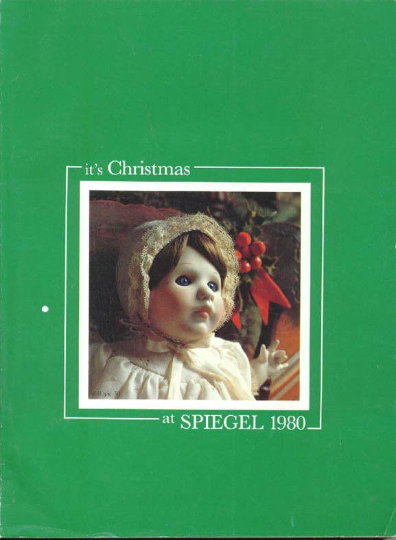CHRISTMAS AT SPIEGEL 1980 WISH BOOK SPIEGELS CATALOG