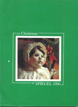 CHRISTMAS AT SPIEGEL 1980 WISH BOOK SPIEGELS CATALOG - $30.20