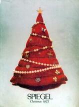 CHRISTMAS AT SPIEGEL 1977 WISH BOOK SPIEGELS CATALOG - $35.15