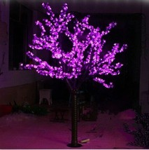 6.5ft /2M Height 1,040pcs LEDs Cherry Blossom Tree Christmas Light Tree Pink Out - $418.00