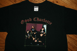 New Good Charlotte T-Shirt Tee-Men's Medium-Pop Punk/alternative rock/dance/goth - $12.11