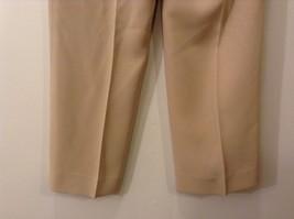 Ladies Jones New York Light Tan Beige Pants Sz 6 image 6