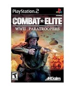 Combat Elite WWII Paratroopers - PlayStation 2 ... - $6.92
