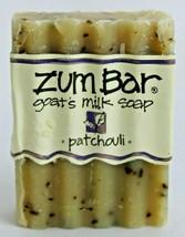 Zum Bar Goats Milk Soap Bar Patchouli 3 oz Handmade Indigo Wild USA Bran... - $3.95