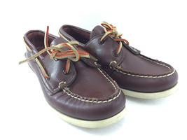 Sperry Top-Sider Womens 6 M Brown Leather Boat Deck Shoes Non-Marking 95... - $43.12