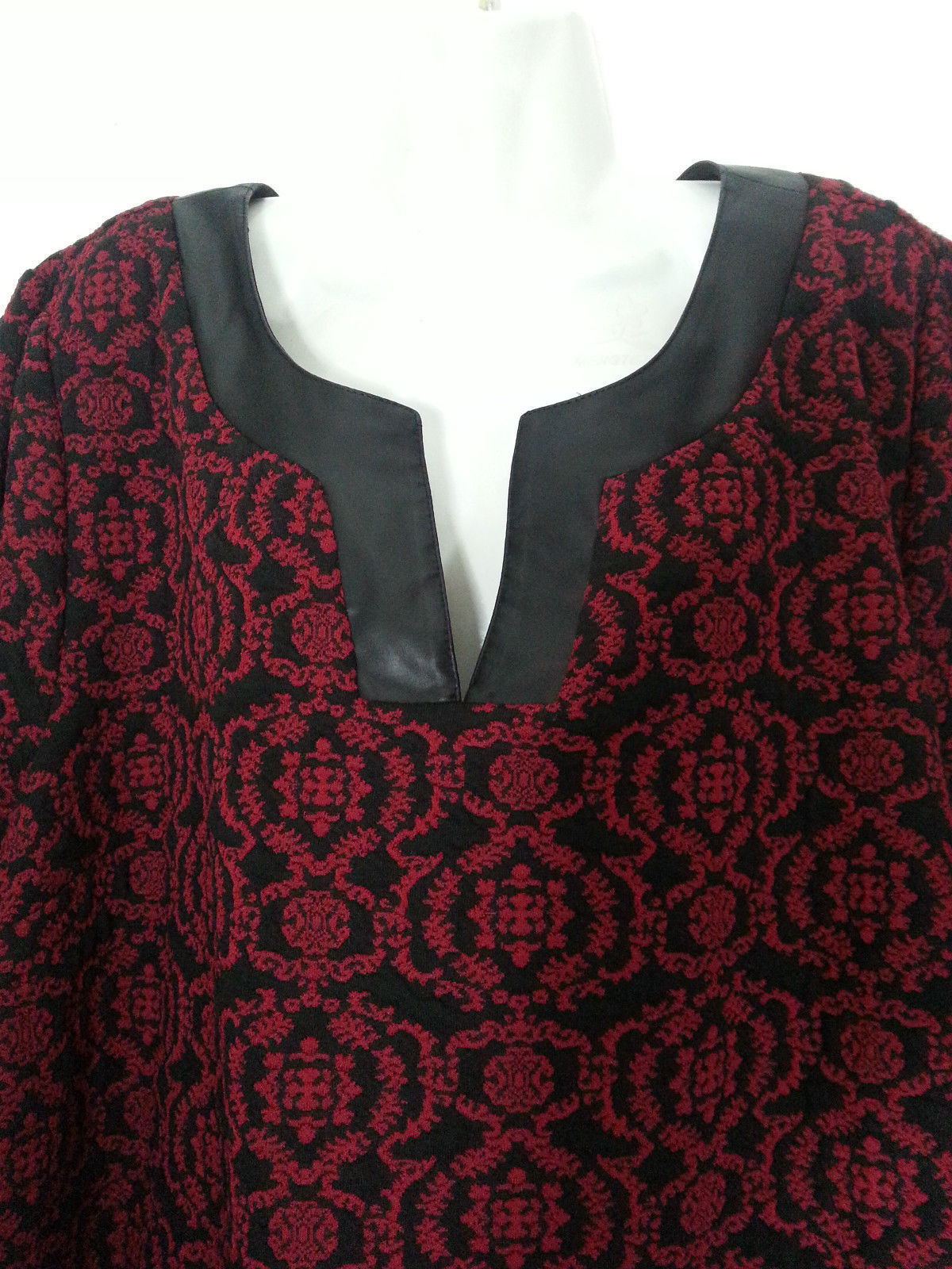 201892abb2 CATHERINES BLACK AND RED DRESS NEW 22-24 2X NWT PLUS SIZE DRESS W