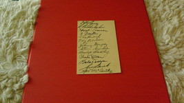1940   YANKEES   J.S.A.  AUTH   AUTOs   POSTALLY  USED   GREAT  AUTOS   ... - $799.99