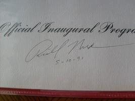 1969  RICHARD  NIXON  SIGNED  AUTOGRAPHED  INAUGURATION  PROGRAM  SIGNED... - $249.99