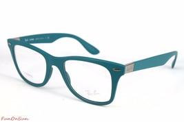 Ray Ban Eyeglasses LITEFORCE RB7034 5442 Matte Blue 50mm Rectangle Frame Plastic - $77.59