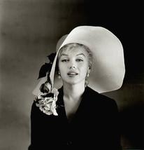 Marilyn Monroe Hat TKK Vintage 16X20 BW Movie Memorabilia Photo - $29.95