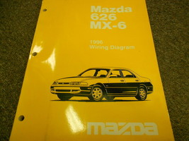1996 MAZDA 626 MX-6 MX6 Electrical Wiring Diagram Service Repair Shop Ma... - $8.78