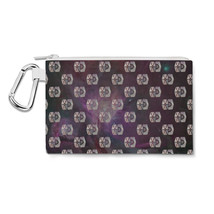 Tie Fighter Star Wars Galaxy Pattern Canvas Zip Pouch - $15.99+
