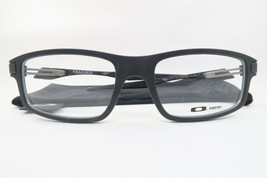 New Authentic Oakley OX8035-0152 Satin Black Eyeglasses 52/18/139 w/ Cloth Bag - $78.21