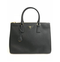 Prada Galleria Medium Saffiano Tote Black Leather Ladies Bag 1BA274 F0002 - $1,799.00