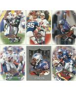 (6) 1997 Leaf (New England Patriots Complete Team Set) SEE SCANS!  - $0.99