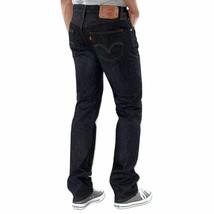 Levi's 501 Men's Original Fit Straight Leg Jeans Button Fly Black 501-5808 image 2