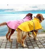 Rain Coat Pet Clothes Pet Raincoat Jacket Clothing S-4XL Large Dog Water... - $19.67+