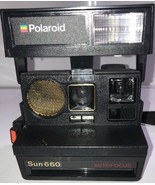 POLAROID 600 Vintage Land Camera Sun 660 Autofocus estate find - $46.74