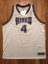 BNWT Authentic 2002 Reebok Sacramento Kings Chris Webber Home White Jers... - $699.99