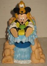 Mickey Mouse & Pluto Splash Mountain Dixie Cup Dispenser Holder Bathroom... - $16.83