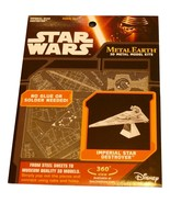 Star Wars Imperial Star Destroyer Metal Earth 3D Metal Model Kit - $15.60