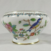 Aynsley Pembroke Open Sugar Bowl Fine English Bone China Birds Flowers - $16.25