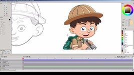 Pencil2D (2D Animation and Drawing Software) for Windows and Mac - $6.95