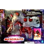 Palisades Toys MICRONAUTS Collectible Baron Karza and Andromeda Action F... - $240.56