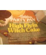 WIilton Party Cake Pan High Flyin Witch Cake With Insert 502-3398 Vintage - $16.99