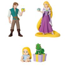 Set of 3, Tangled Disney Christmas Ornament Kuji 2020, Rapunzel, Flynn R... - $27.71