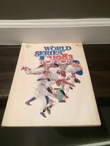 1983 Baseball World Series Game Program Book (L8419) - $14.84