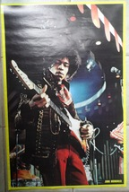 Jimi Hendrix Large 1979 Poster Printed Holland VG #332 Posterel Decor 35... - $165.00