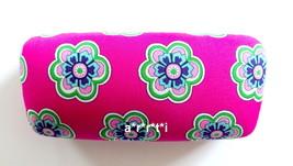 Vera Bradley Hard Clamshell Eyeglass Sunglass Case Pink Swirls Flowers NWOT - $29.00