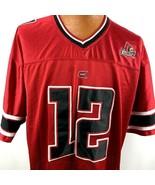 Colosseum Athletics Louisville Cardinals #12 NCAA Football Jersey Men Si... - $44.54