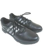 Adidas Herren Golf Schuhe Größe 9 Schwarz/Silber 670565 - $38.41