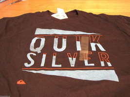 Men's Quiksilver Final Notice MTO black S small t shirt MT2738 surf skat... - $8.54