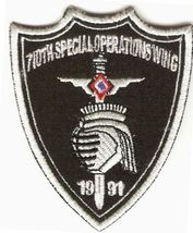 Philippines Air Force PAF 710th Special Operations Wing Unit Patch 3 x 2.5in  - $9.99