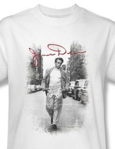 James Dean T-shirt Street Pic retro vintage classic celebrity cotton tee DEA456 image 2