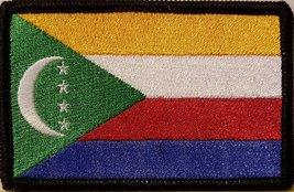 "[Single Count] Custom and Unique (3 1/2 "" x 2 1/4"" Inches) COMOROS FLAG Recta... - $6.92"
