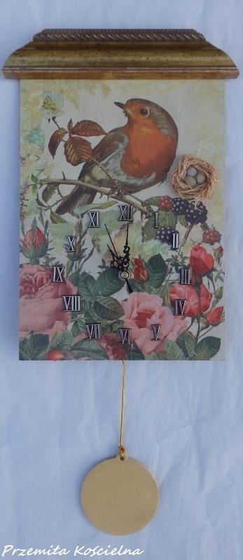 Zegar ptak rudzik