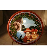 Uncle Tad's Old Mill Stream Golden Oldies Series Collector Plate Anna Pe... - $5.00