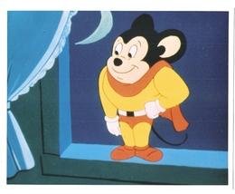 Mighty Mouse Vintage 8X10 Color Cartoon Memorabilia Photo  - $4.99