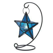 Western Outpost - SAPPHIRE STAR TABLE LANTERN - $19.75