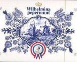 Wilhelmina Peppermints Box, 1 Box 500 Grams, 17.6 Ounces