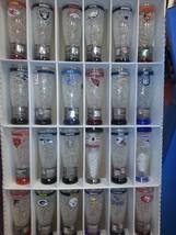 NFL PILSNER BEER Freezer Mug Glass 16oz refreezeable mug=--MANY TEAMS AV... - $19.99