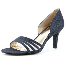 Alfani Giorjah Women US 6.5 Blue Open Toe Heels - $29.39
