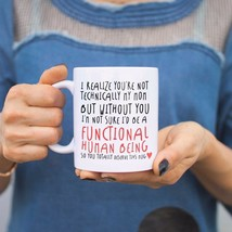 Technically Not My Mom But Mother's Day Mug Gift for Stepmother or Godmo... - $14.99