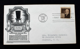 US Stamp Sc#  893 FDC Alexander Graham Bell C. Stephen Anderson Cachet 1940 - $9.99