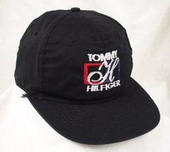 Tommy Hilfiger Black Baseball Cap Hat GUC Box Shipped - $19.99