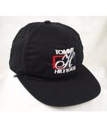 Tommy Hilfiger Black Baseball Cap Hat GUC Box Shipped - $19.99